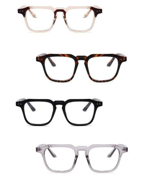 Classic Square Fashion Blue Light Blocker Designer Glasses