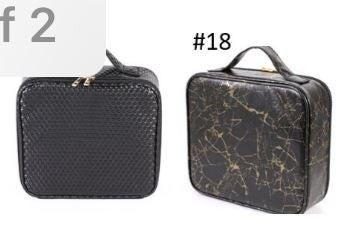 Hard Shell Makeup Bag W/ Handle