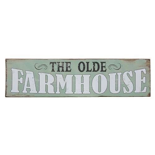 """The Olde Farmhouse"" Sign"