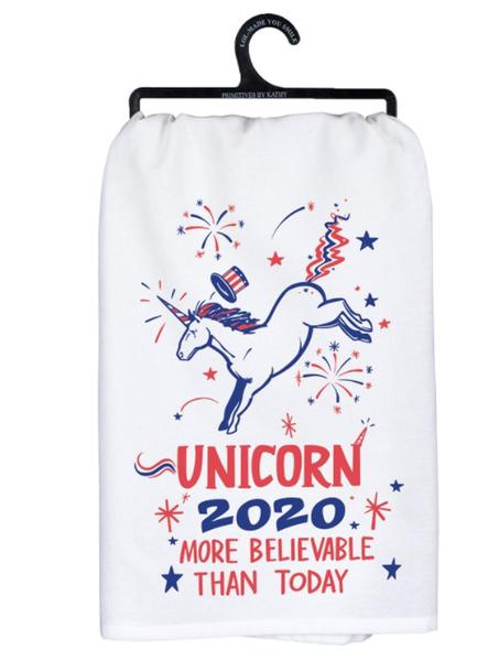 Dish Towel - Unicorn 2020 More Believable