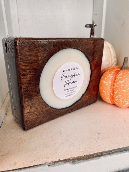 Cheese Mold Candle- Pumpkin Pecan