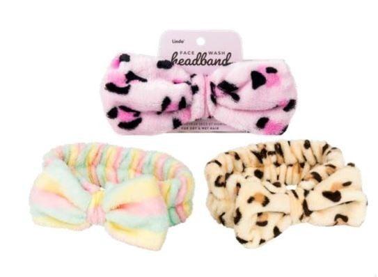 Lindo Face Wash Headband Bow