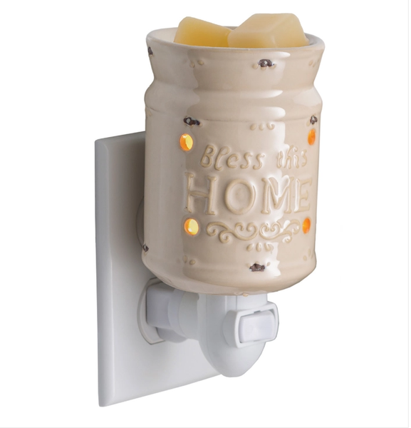 Pluggable Fragrance Warmer- Bless This Home