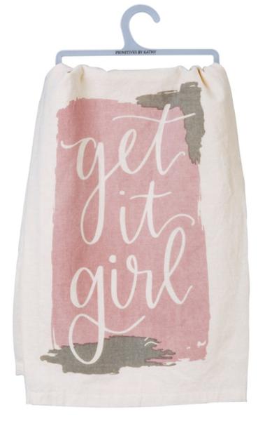 Dish Towel - Get It Girl