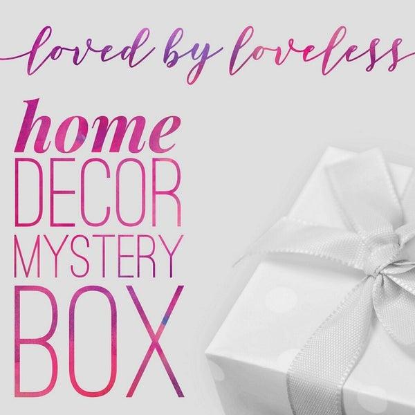 Mystery Home Decor Box *Final Sale*