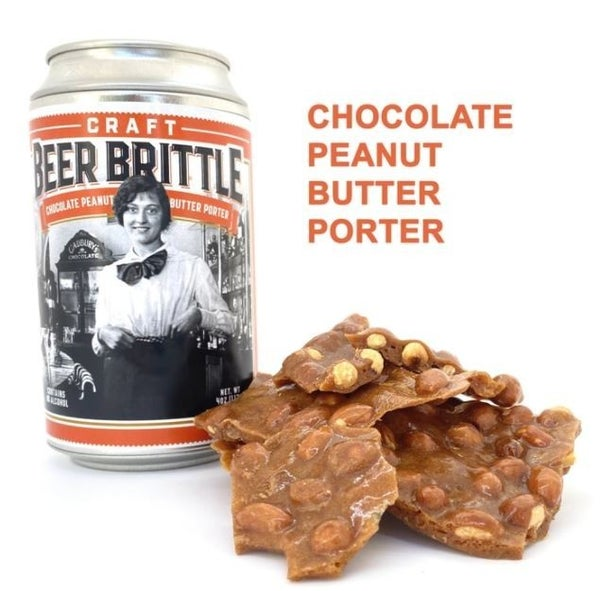 Craft Beer Brittle - Chocolate Peanut Butter Porter