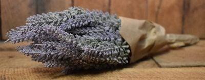 "14"" Lavender Bunch- Craft Paper & String"