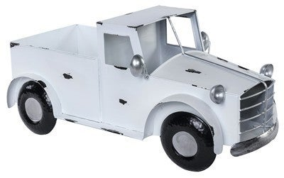 Metal White Truck Container