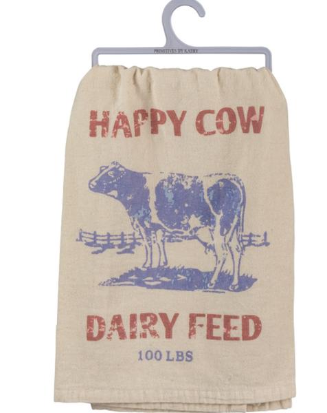 Dish Towel - Happy Cow Dairy