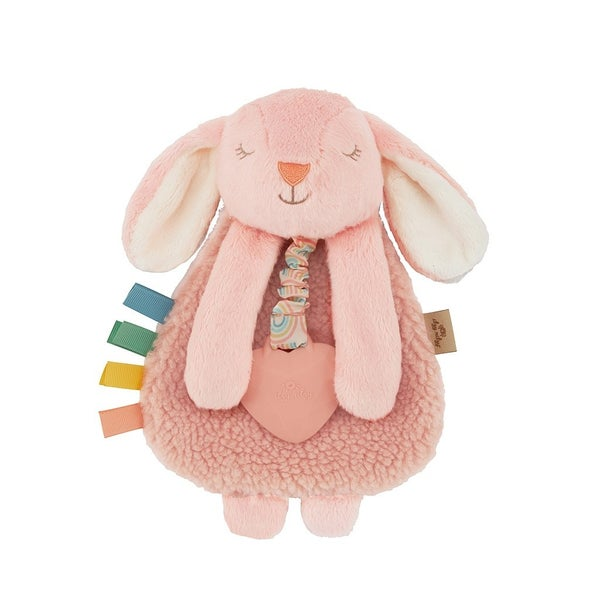 Bunny Plush with Silicone Teether Toy