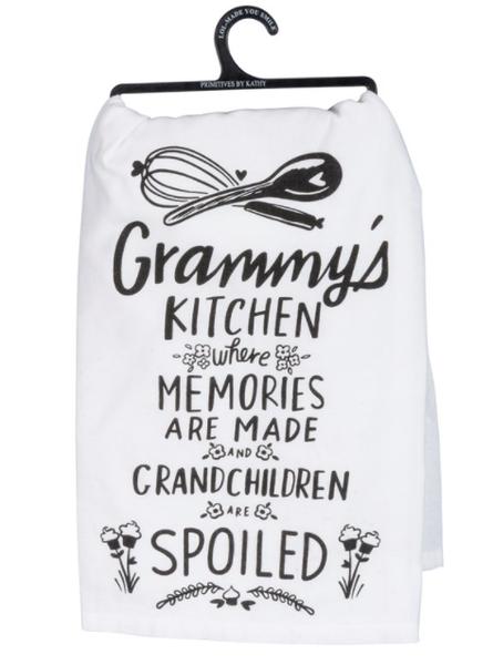 Dish Towel - Grammy's Kitchen Where Memories