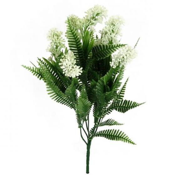 Forest Fern W / White Spike