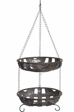 Double Hanging Basket