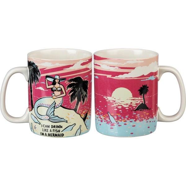 Mug - I Can Drink Like A Fish I'm A Mermaid