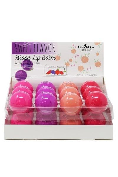 Italia Deluxe Fruity Globe Lip Balm *Final Sale*