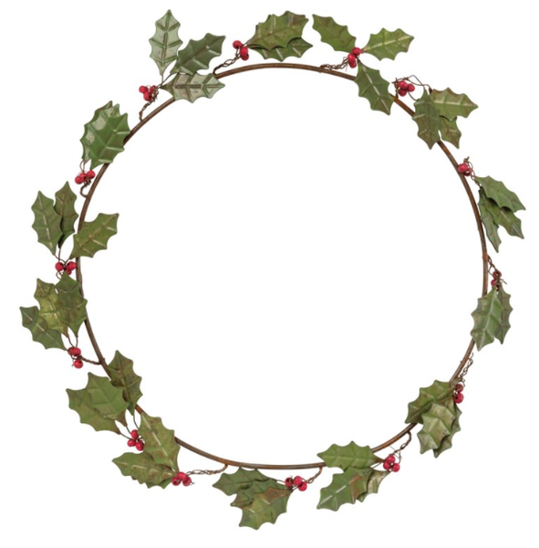 Wreath - Holly Leaves