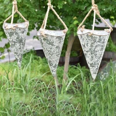 Hanging Tin Planter