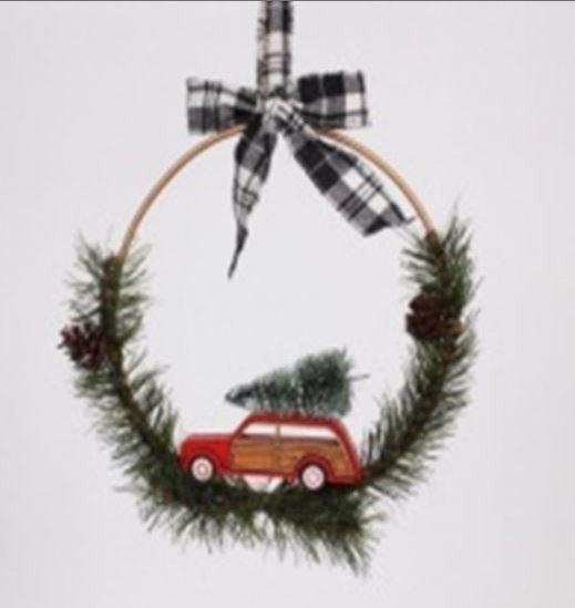 Mini Wreath Hanger
