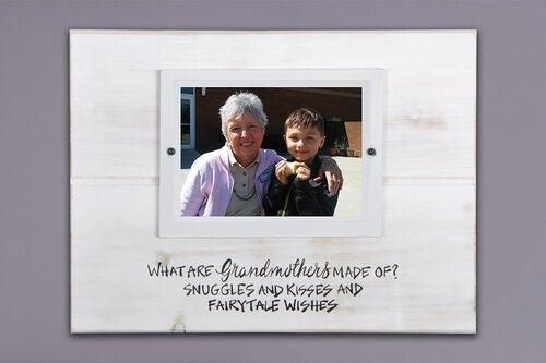 Grandmothers 14.5″X11″ Real Wood Frame