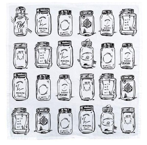 Dish Towel - Mason Jars