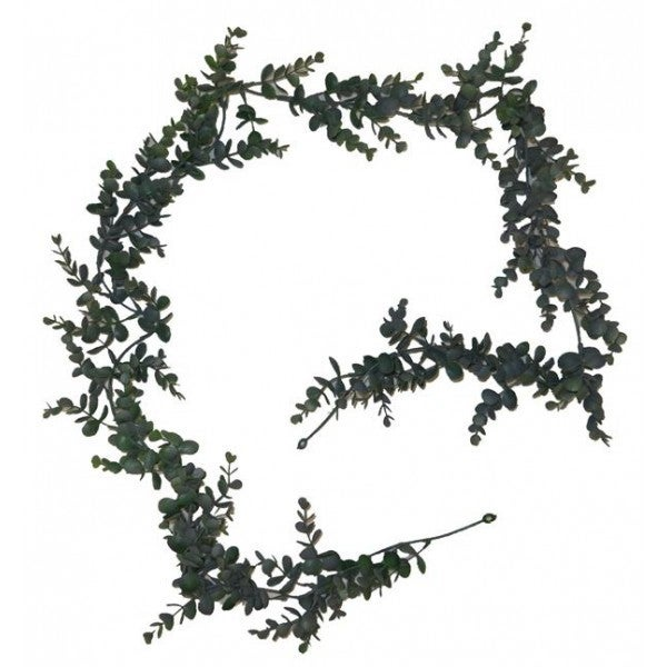 6' Boxwood Garland-Dark