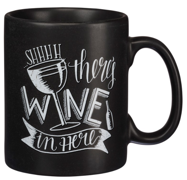 Mug - Shhh There's Wine In Here