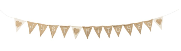 Pennant Garland - Just Hitched