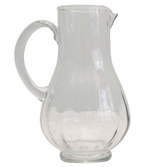 24 oz. Hand-Blown Glass Pitcher