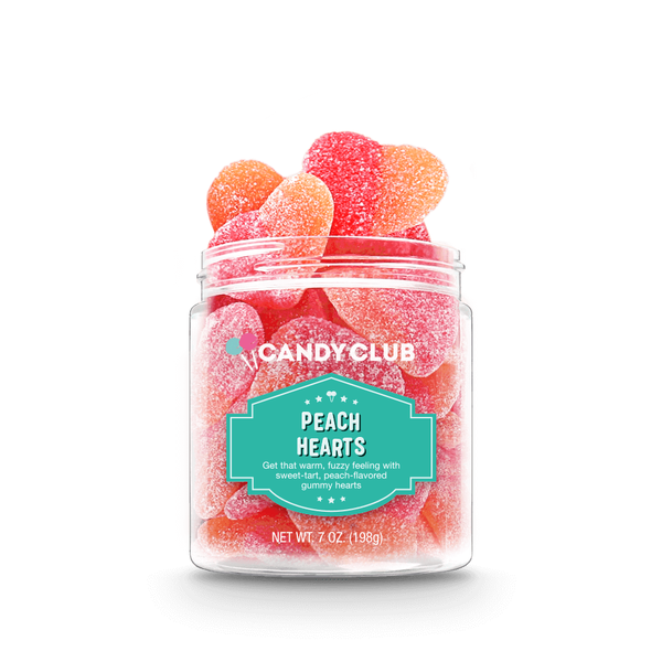 Candy Club- Peach Hearts