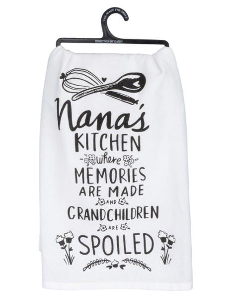 Dish Towel - Nana's Kitchen Where Memories