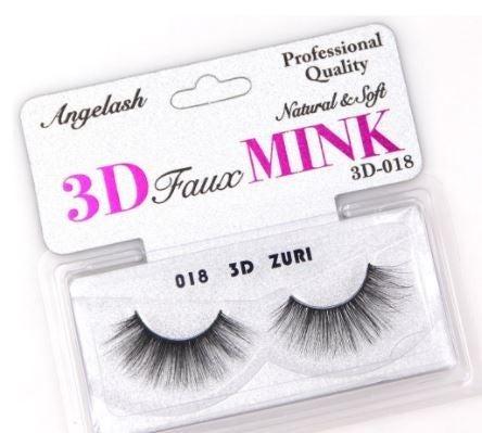 3D Faux Mink Eyelashes- Zuri *Final Sale*