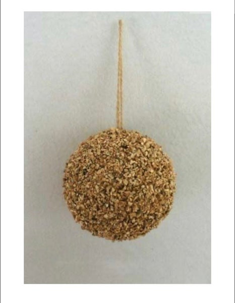 100 MM Silicate Hanging Ball - Natural
