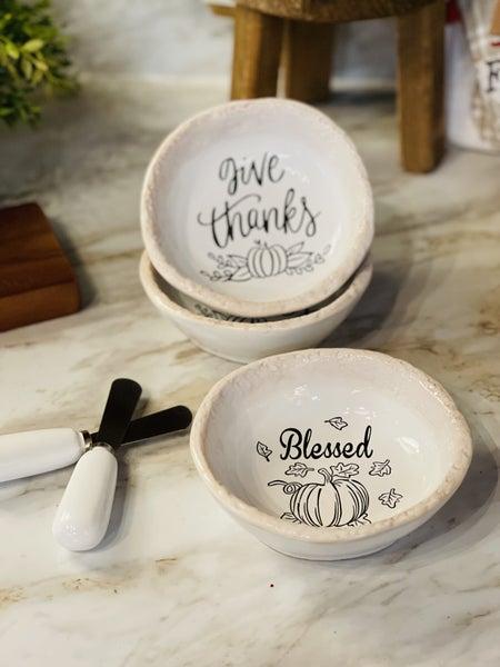 Ceramic  Bowl/Spreader