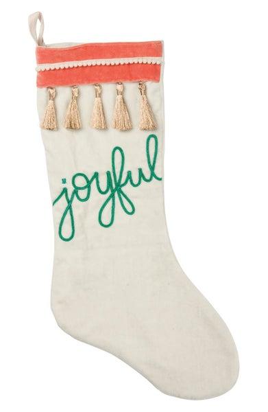 Stocking- Joyful