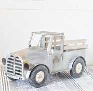 GIANT TIN PICK-UP TRUCK- LOCAL PICKUP