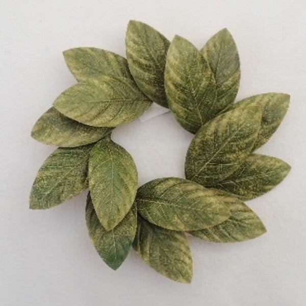 "12"" Magnolia Wreath - Green"