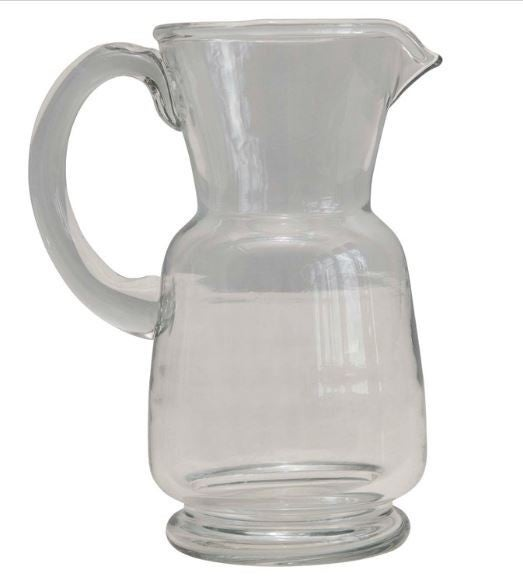 24 oz. Hand-Blown Glass Pitcher