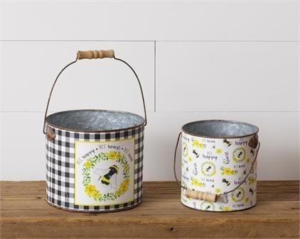 Buckets - Bee Happy, Honest, Kind