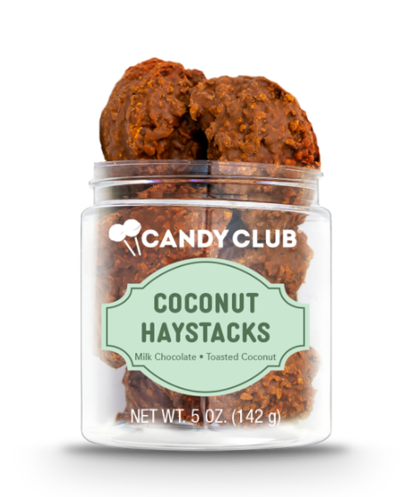 Candy Club- Coconut Haystacks