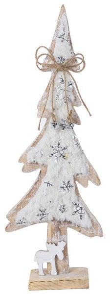 Wooden Snow Tree