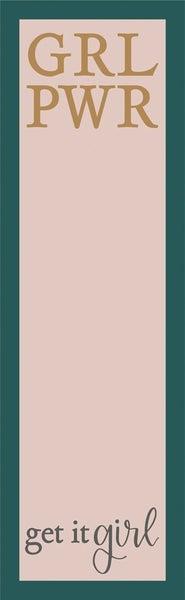 List Notepad - Grl Pwr