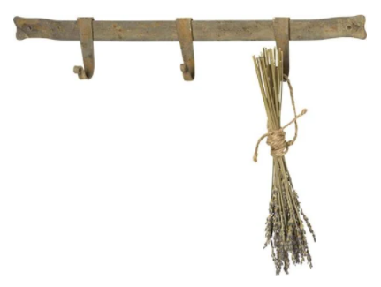 Bar with Adjustable (4) Hooks