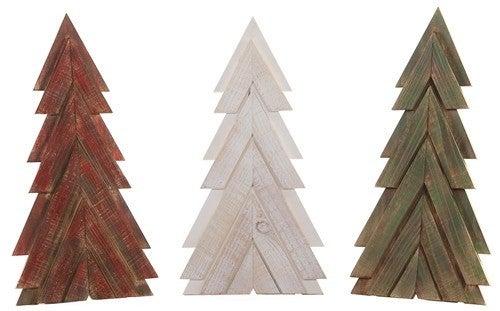 Wooden Slat Tree Sign- SM
