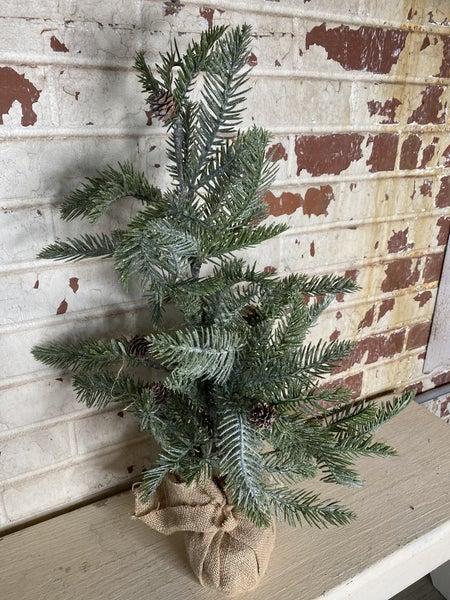 Small Glitter Pine Tree