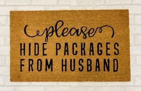 Hide Packages Mat