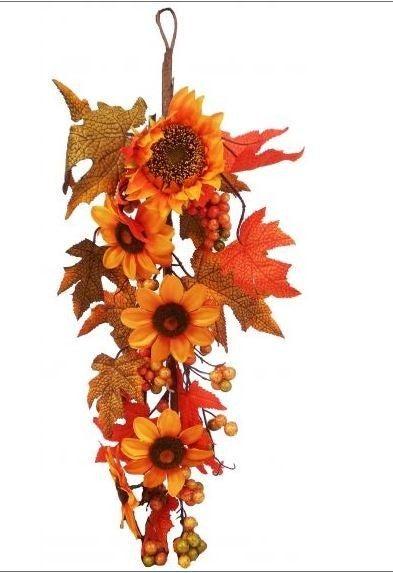 """24 """" Sunflower Berry Maple Teardrop"""