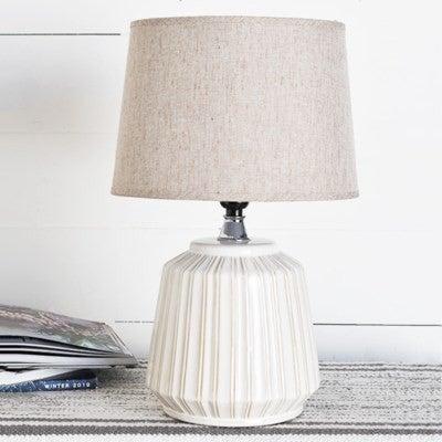 WHITE LINE PATTERN LAMP