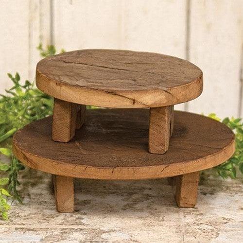 Wooden Oval Riser