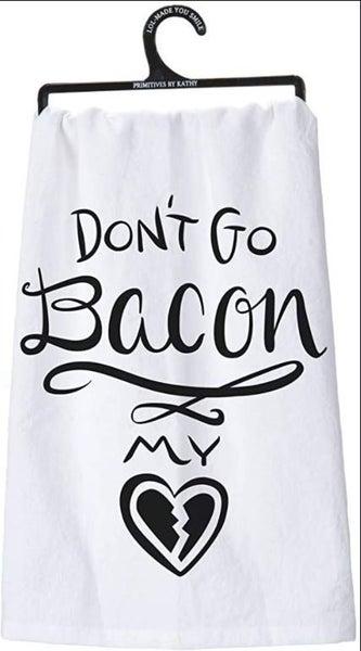 Dish Towel - Bacon
