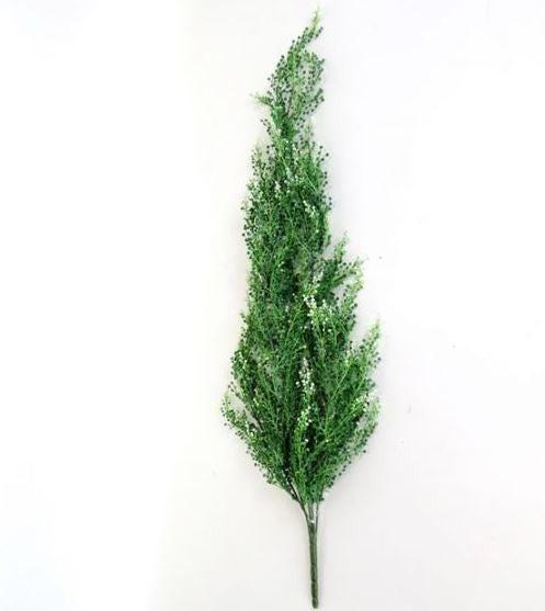Plastic Hanging Green Berry Bush